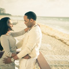 South Beach Engagement Photos