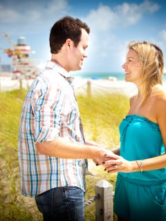 Miami Beach & Doral Engagement Photography